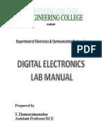 De Lab Manual(Ece)