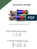 Flechas de Sección Variable-pinto
