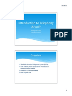 1. Introduction to Telephony & VoIP