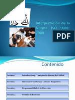 Interpretación de La Norma ISO 9001