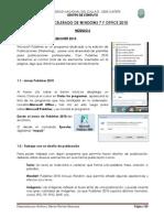 Modulo 6 - Publisher 2010