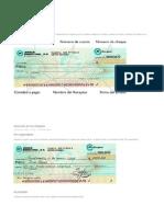 Tipos de Cheques