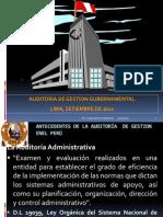 Ppt Auditoría de Gestion Gubernamental