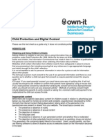 Child Protection and Digital Content Factsheet