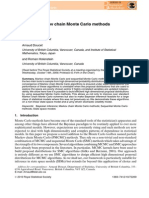 Particle Markov Chain Monte Carlo Methods