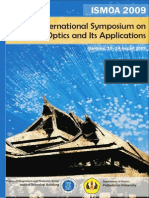 Program Booklet Ismoa 2009