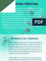 My Franchise Attorney