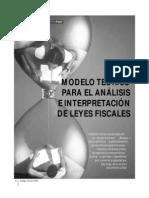 0410-Modeloteorico Para El Analisis Teorico de Las Leyes Fiscales