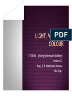 02. Light, Vision & Colour