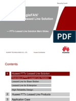 Huawei FTTx Leased Line Solution