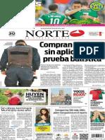Periódico Norte edición del día lunes 30 de junio de 2014