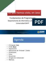 Ponencia 6 Java