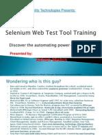 0Selenium Tutorial Day 1 - Selenium and IDE Overview