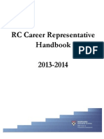 Career Rep Handbook 13-14