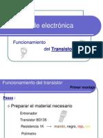 P.E.transistores