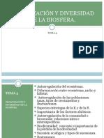 Tema 5- Organización y diversidad de la Biosfera.