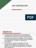 Cálculos Con Distribución Normal (Formulas)