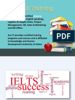 IELTS test preparation courses and classes in dubai
