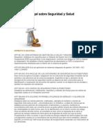 Normativa Legal Sobre Seguridad y Salud Ocupacional