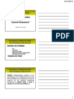 Control Gestion y Control Financiero