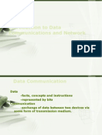 intro to data communication and networks