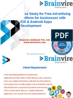 Case Study for Free advertising platform for businesses with IOS & Android Apps development