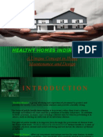 Healthy Homes India (p) Ltd a Unique Concept in Home
