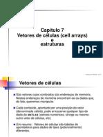 Cap7 Vetores de Celulas e Estruturas