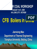 CFB Boilers in China