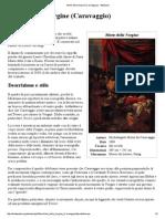 Morte Della Vergine (Caravaggio) - Wikipedia