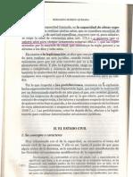 El Estado Civil. Moreno Quesada. Clase 30001