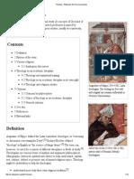 Theology - Wikipedia, The Free Encyclopedia