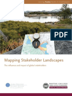 Boston College presenta un mapa de actitudes de los stakeholders en 13 países