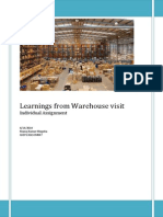 Warehousing Learnings