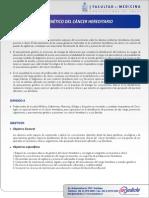 Diploma Asesoramiento Genetico Del Cancer Hereditario Clc