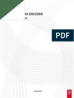 Adobe Media Encoder - Help & Tutorials