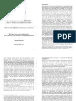 Salvia (2003). LA CRISIS SOCIAL EN LA ARGENTINA. UNA EXPERIENCIA DE INVESTIGACIÓN INTERDISCIPLINAR