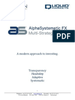 AlphaSystematic FX Multi Strategies Programme