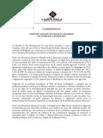 Bank Al Maghrib Rapport Annuel 2013