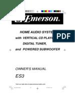 Emerson ES3
