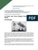 Punca Pencemaran Udara