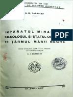 Balascef Imparatul Mihail VIII