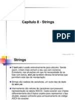 Cap8 Strings (Cadeias de Caracteres)