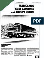 Los camiones que Europa quiere