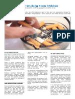 Indoor Smoking Harm Children