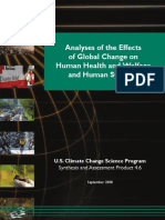 Climate Chage and Human Health