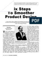 Six Steps to Smoother Product Design