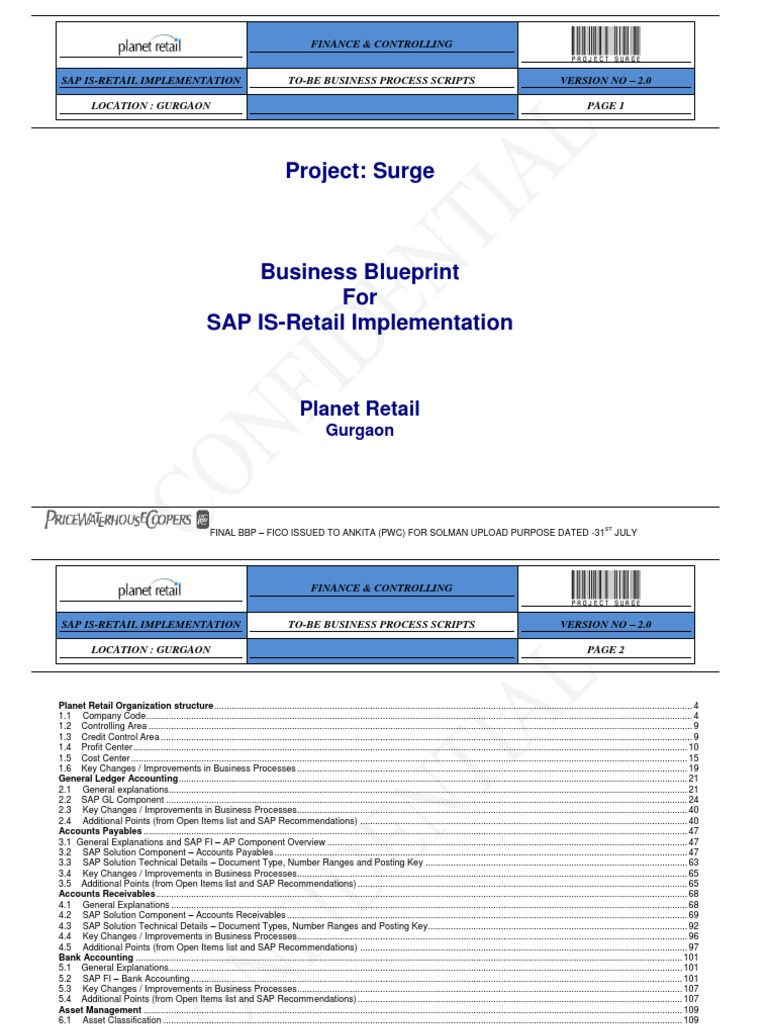 Fico bbp for sap is retail implementation balance sheet expense malvernweather Gallery