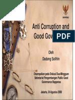 Anti Corruption and Good Governance 26839