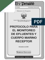 protocolo efluentes